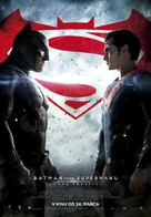 Batman v Superman: Dawn of Justice - Slovenian Movie Poster (xs thumbnail)