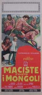 Maciste contro i Mongoli - Italian Movie Poster (xs thumbnail)