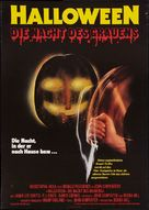 Halloween - German Movie Poster (xs thumbnail)