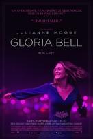 Gloria Bell - Danish Movie Poster (xs thumbnail)