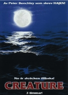 Creature - Swedish DVD movie cover (xs thumbnail)