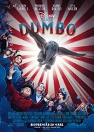 Dumbo - Swedish Movie Poster (xs thumbnail)