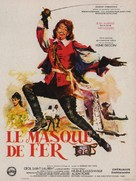 Masque de fer, Le - French Movie Poster (xs thumbnail)