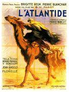 L'Atlantide - French Movie Poster (xs thumbnail)