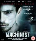 The Machinist - British Blu-Ray cover (xs thumbnail)