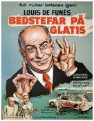 Hibernatus - Danish Movie Poster (xs thumbnail)