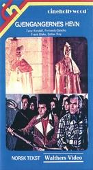El ataque de los muertos sin ojos - Norwegian VHS movie cover (xs thumbnail)