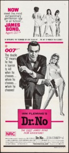 Dr. No - Australian Movie Poster (xs thumbnail)