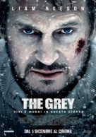 The Grey - Italian Movie Poster (xs thumbnail)