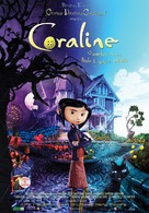 Coraline - Romanian Movie Poster (xs thumbnail)
