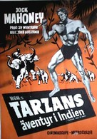 Tarzan Goes to India - Swedish Movie Poster (xs thumbnail)