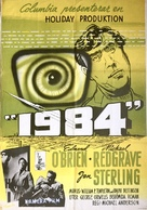 1984 - Swedish Movie Poster (xs thumbnail)