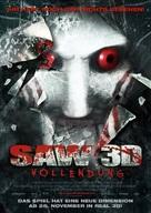 Saw 3D - German Movie Poster (xs thumbnail)