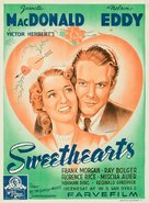 Sweethearts - Danish Movie Poster (xs thumbnail)