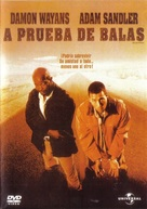 Bulletproof - Mexican DVD cover (xs thumbnail)