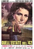 Summer of '42 - Italian Movie Poster (xs thumbnail)