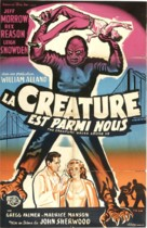 The Creature Walks Among Us - French Movie Poster (xs thumbnail)