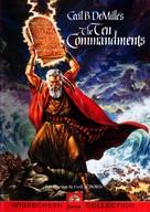 The Ten Commandments - DVD movie cover (xs thumbnail)