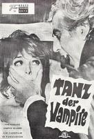 Dance of the Vampires - Austrian poster (xs thumbnail)