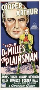 The Plainsman - Australian Movie Poster (xs thumbnail)