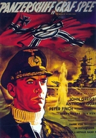 The Battle of the River Plate - German Movie Poster (xs thumbnail)