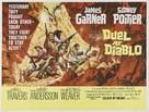 Duel at Diablo - British Movie Poster (xs thumbnail)