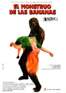 Schlock - Spanish Movie Poster (xs thumbnail)