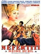 Nefertiti, regina del Nilo - French Movie Poster (xs thumbnail)