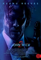 John Wick: Chapter Two - Hungarian Movie Poster (xs thumbnail)