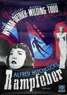 Stage Fright - Swedish Movie Poster (xs thumbnail)