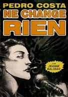 Ne change rien - Portuguese DVD cover (xs thumbnail)