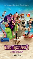 Hotel Transylvania 3: Summer Vacation - Malaysian Movie Poster (xs thumbnail)