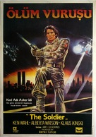 The Soldier - Turkish Movie Poster (xs thumbnail)