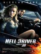 Drive Angry - French Movie Poster (xs thumbnail)
