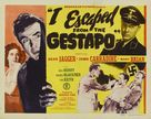 I Escaped from the Gestapo - Movie Poster (xs thumbnail)