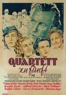 Quartett zu fünft - German Movie Poster (xs thumbnail)