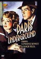 Paris Underground - DVD cover (xs thumbnail)