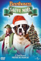 Beethoven's Christmas Adventure - French DVD cover (xs thumbnail)