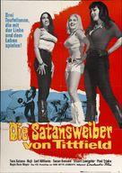 Faster, Pussycat! Kill! Kill! - German Movie Poster (xs thumbnail)