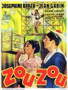 Zouzou - Belgian Movie Poster (xs thumbnail)