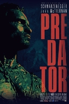 Predator - French Re-release movie poster (xs thumbnail)