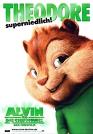Alvin and the Chipmunks - German Movie Poster (xs thumbnail)