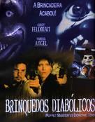 Puppet Master vs. Demonic Toys - Brazilian DVD cover (xs thumbnail)