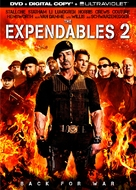 The Expendables 2 - DVD cover (xs thumbnail)