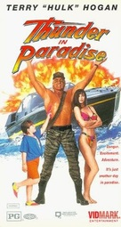 """""""Thunder in Paradise"""" - VHS movie cover (xs thumbnail)"""