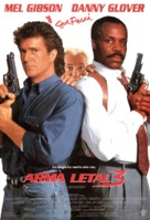 Lethal Weapon 3 - Spanish Movie Poster (xs thumbnail)