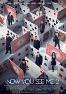 Now You See Me 2 - Italian Movie Poster (xs thumbnail)