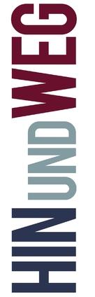 Hin und weg - German Logo (xs thumbnail)