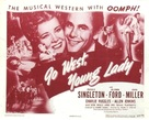 Go West, Young Lady - Movie Poster (xs thumbnail)