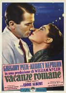 Roman Holiday - Italian Movie Poster (xs thumbnail)